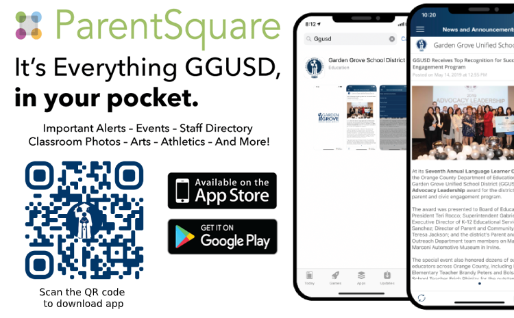 GGUSD ParentSquare - article thumnail image